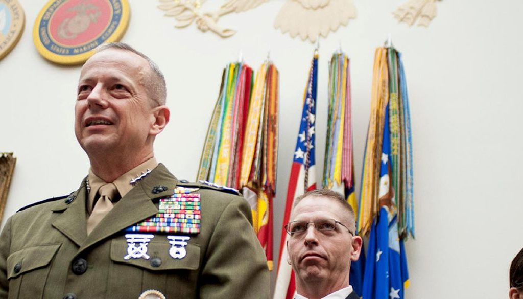 General John R. Allen is Leading the AI Revolution