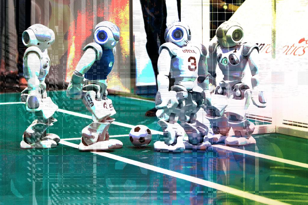 University of Texas at Austin robot soccer